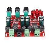 KKmoon tpa3118 2.1 Canal Digital Estéreo Subwoofer Amplificador de potencia Tabla 2 x 30 W + 60 W DC12 V de 26 V