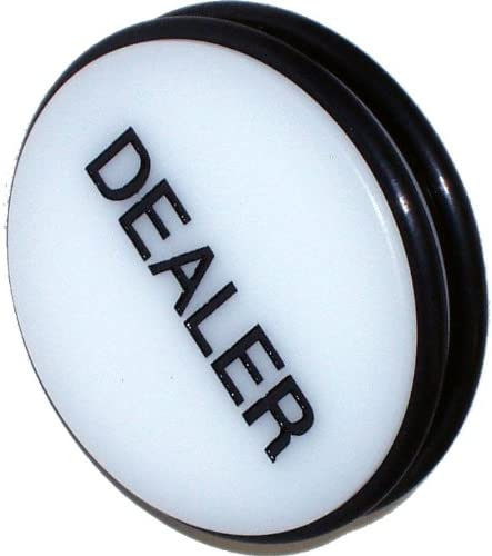 Brybelly Deluxe 3 Inch Double safety Sided Casino Grade I - Puck Button Dealer