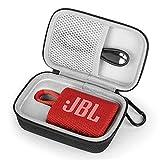 Estuche Funda para JBL GO 3 Altavoz Inalámbrico Portátil con Bluetooth,Bolso de Protección para Altavoces Caja Cubrir para Transporte rígida (White