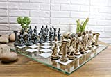 Ebros Greek Mythology Chess Set Olympian Gods and Demigods Zeus Hera Army Felted Base Resin Chess Pieces with 15