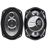 1 Pair 6x9 Inch 1000W 3 Way Car Coaxial Speaker Hifi Audio Music Stereo Full Range High Sensitivity...