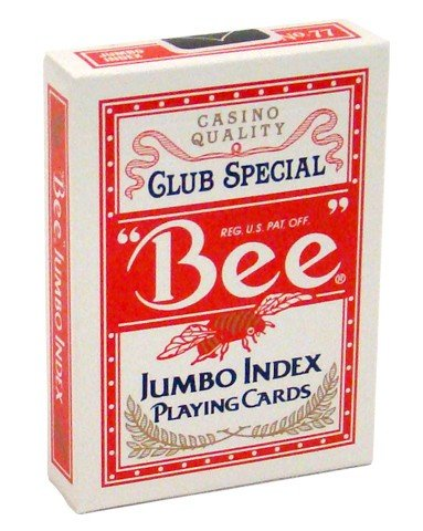 USPCC Bee Playing Cards Jumbo Index