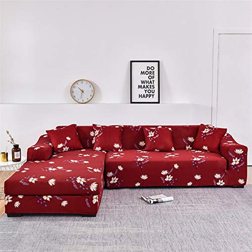 kengbi Easy To Install And Comfortable Sofa Cover Sofa Cover,L Shaped Needs Order 2pieces Sofa Cover Slipcovers Elasticity Sofa Towel Armchair Cover For Corner Sofa Protect Furniture