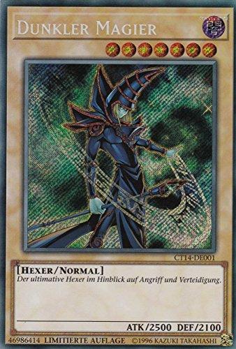 CT14-DE001 - Dunkler Magier - Secret Rare - Yu-Gi-Oh - Deutsch - Limitierte Auflage