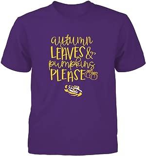 FanPrint LSU Tigers T-Shirt - Autumn