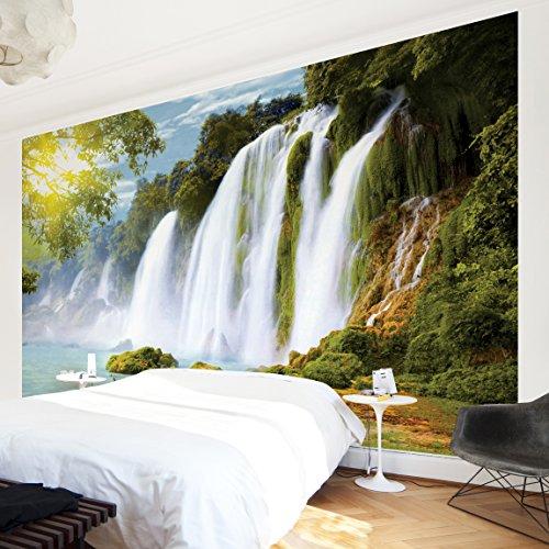 Apalis Vliestapete Waters Fototapete Breit | Vlies Tapete Wandtapete Wandbild Foto 3D Fototapete für Schlafzimmer Wohnzimmer Küche | mehrfarbig, 94532