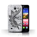eSwish Phone Case for Huawei Ascend Y550 LTE Dinosaur