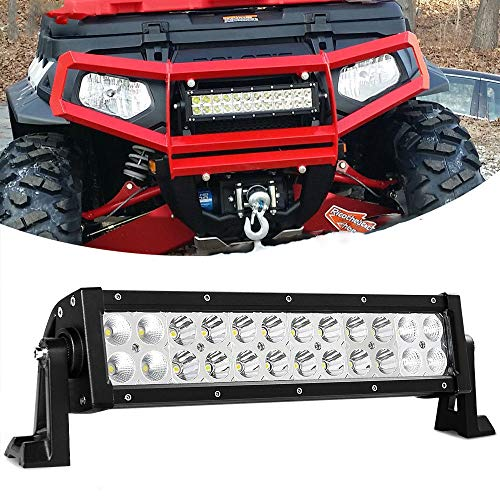 Willpower 12 Zoll 72W zweireihige LED-Lichtleiste super hell Offroad LED Arbeitslicht Spot Flut Combo fahren Nebelscheinwerfer für 4WD Truck ATV UTV Boot