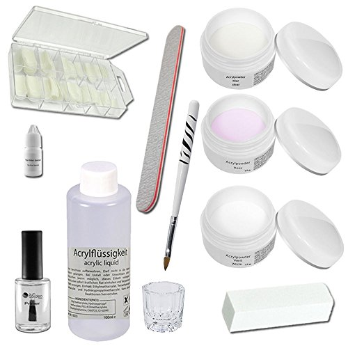 Acrylic Starter Set - Siena - professional nail kit - nail starter kit - Acrylic...