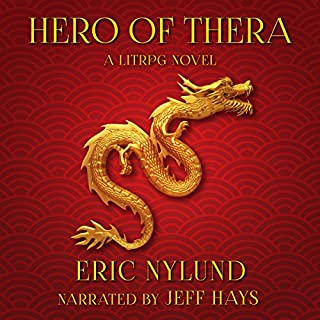 Hero of Thera                   By:                                                                                                                                 Eric Nylund                               Narrated by:                                                                                                                                 Jeff Hays                      Length: 11 hrs and 38 mins     562 ratings     Overall 4.7