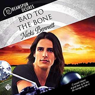 Bad to the Bone (Dreamspun Desires) audiobook cover art