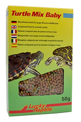 Lucky Reptile Turtle Mix Baby 50 g, 2er Pack (2 x 50 g)