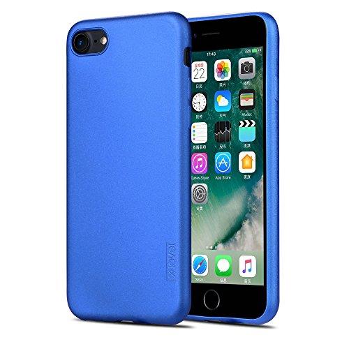 X-level iPhone 8 Hülle, iPhone 7 Hülle, [Guardian Serie] Soft Flex TPU Case Ultradünn Handyhülle Silikon Bumper Cover Schutz Tasche Schale Schutzhülle für iPhone 7/ iPhone 8 4,7 Zoll - Blau