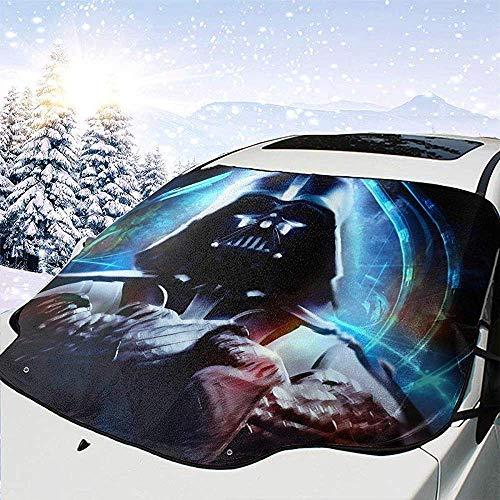 MaMartha Car Windshield Snow Cover Cartoon Rick Morty Auto Windschutzscheibe Schneedecke,Auto Sonnenschirm,Eisentfernung Sonnenschutz f/ür den Winterschutz Kratzer verhindern Wasserdicht