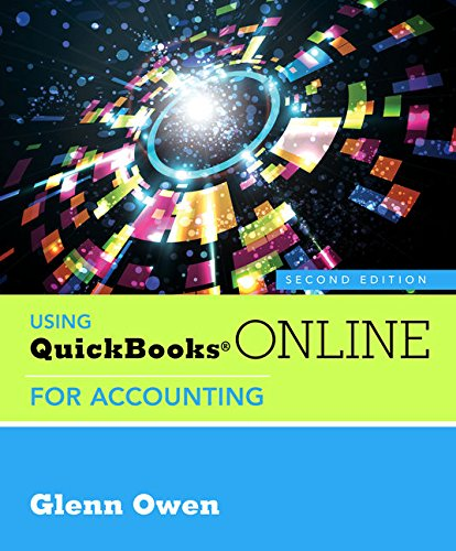 Using QuickBooks Online for Accounting (with Online, 5 month Printed Access Card)