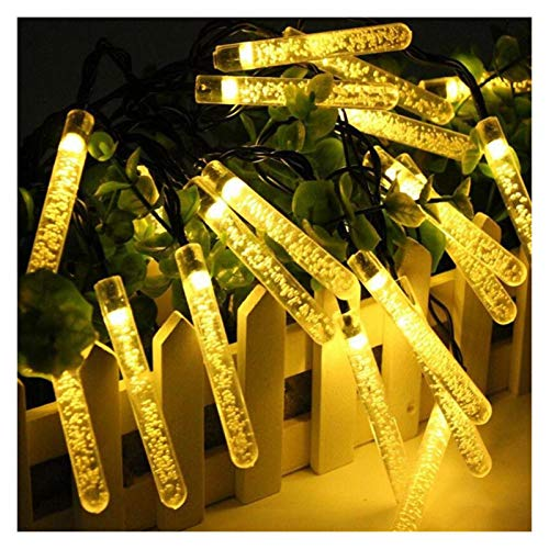 XYACM Outdoor String Lights Waterproof Patio String Lights for Garden/Backyard Party/Wedding (Color : Warm White, Size : 7m)