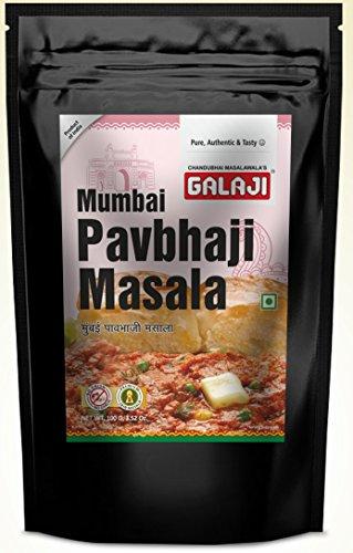 Galaji Mumbai Pav Bhaji Masala 100 Grams (Zip Lock Packing)