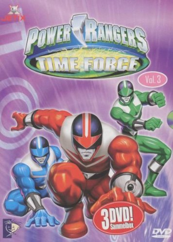 Power Rangers - Time Force Megapack Vol. 3 (Episoden 19-27) (3 DVDs) [Edizione: Germania]