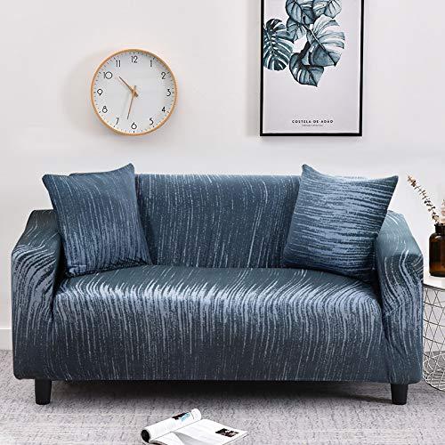 WXQY Funda de sofá de celosía Funda de sofá elástica con Todo Incluido, Utilizada para la Funda de Muebles de Sala, Funda de sofá, Toalla de sofá A31 de 3 plazas