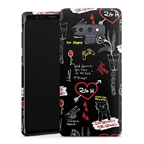 DeinDesign Handyhülle kompatibel mit Samsung Galaxy Note 9 Hülle Premium Case rewinside Charity Youtuber