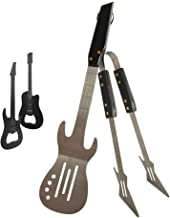 PEPKICN Rock Guitar Style Spatula & Tongs and Guitar Shaped Bottle Opener