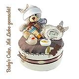 Windeltorte Neutral> Geschenk zur Geburt Taufe Babyparty Geschenk zur Geburt Taufe Babyparty/Geschenk zur Geburt, Taufe, Babyparty, für Mädchen und Jungen