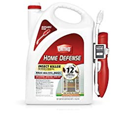 Up to 12 month protection (against ants, roaches and spiders indoors on nonporous surfaces) Kills all common listed household bugs (refer to product label for complete list of insects) Non staining, odor free and dries fast Long lasting bug barrier N...