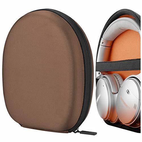 Geekria Funda para Auriculares Bose QuietComfort 35 Series II, QC35 I, QC25, QC15, Bose SoundLink II, SoundTrue II Headphones and More, Estuch Rígido de Transporte