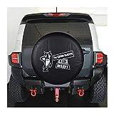 Hcxh-A geeignet for Nissan Patrol Safari GRX Ford Ecosport-Controller Universal-PVC Leder Ersatzbeutel Reifen Radabdeckung Schutz...