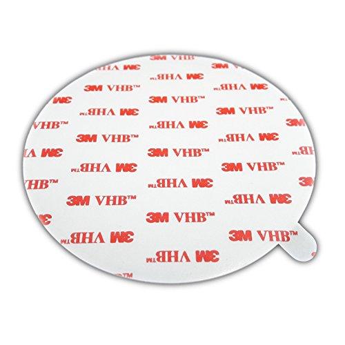 DonDo 3M 4950 VHB doppelseitiges Klebeband Montage Klebestreifen Klebepads Durchmesser 100mm 5 Stück