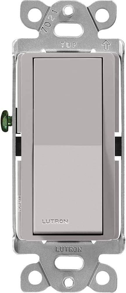 Lutron Claro On Off Switch Single-Pole Free Shipping New 15-Amp 5% OFF Gray CA-1PS-GR