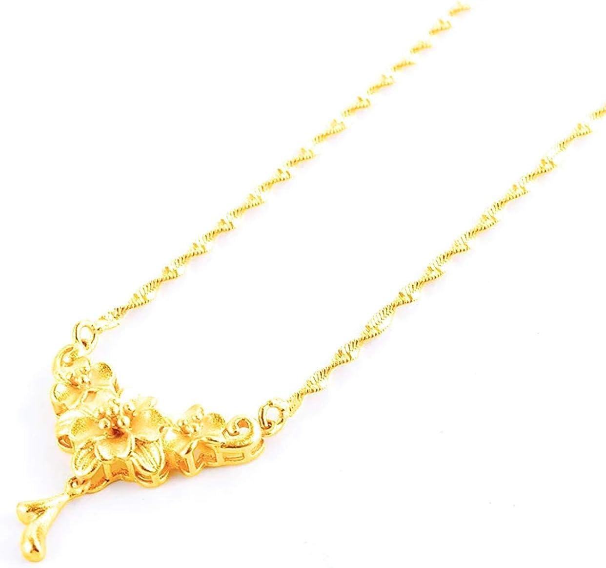 XUPING 24k Saudi ArabGold Plated Necklace