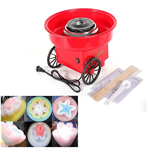 Cotton Candy Machine,450W Electric Bright Colorful Style Cotton Candy Maker for Kids Birthday Wedding Party USA Stock