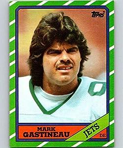 1986 Topps #105 Mark Gastineau EX++ Excellent++ New York Jets Football J2M