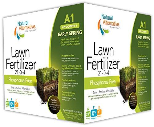 Natural Alternative Early Spring Fertilizer 21-0-4 Enriched...