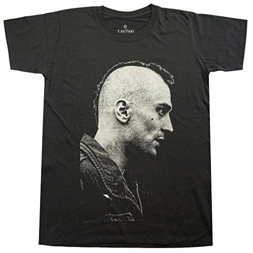 Lectro Men's Taxi Driver Movie Robert De NIRO T-Shirt L Dark Grey
