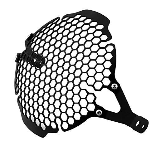 MERIGLARE Cubierta Protectora de Máscara de Rejilla de Malla de Faro para Todas Las Ducati