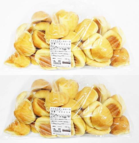 コストコパンバラエティー Costco Bread Variety (36個入×2袋コストコ マスカルポーネロール / 2x36 p Mascarpone Roll)