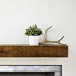 top 10 floating mantels fireplaces Collection Dogberrym-rust-7205-agok-none Rustic mantel, mature oak, 72 inches