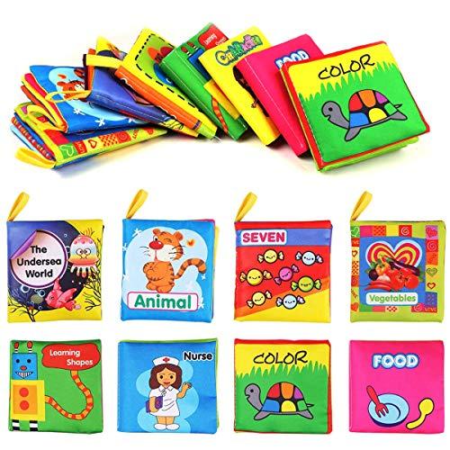 Libros de Tela para Bebé Libro Bebe Activity Tejido Blando