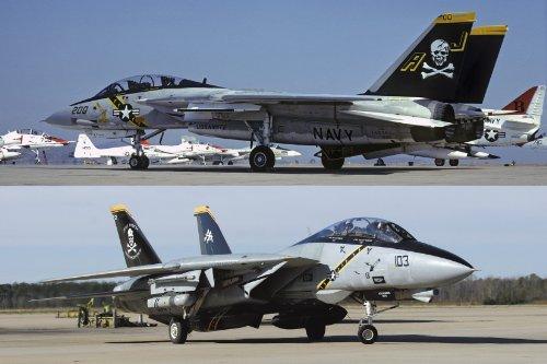 1/72 F-14A / B Tomcat Jolly Rogers Histoire (02106)