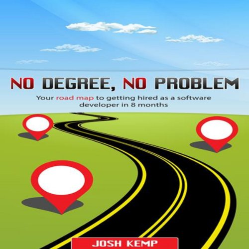 No Degree, No Problem audiobook cover art