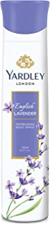 Yardley London English Lavender Refreshing Deo Body Spray for Women, 150ml