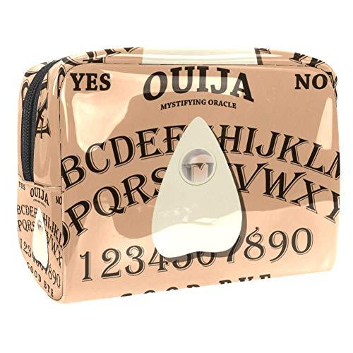 Tizorax Ouija Trousse de toilette en PVC pour femme
