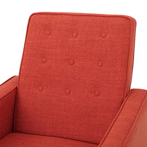 Christopher Knight Home Mervynn Mid-Century Modern Fabric...