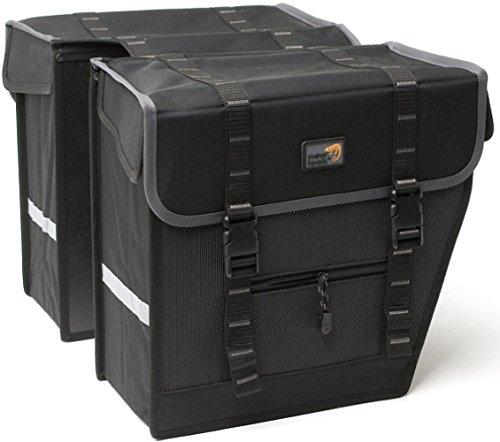 New Looxs Superior Maxi Basic Gepäckträgertasche, Black, 36 x 32 x 18 cm