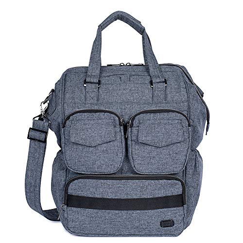 Lug Via 2 Convertible Tote Bag, Heather Grey