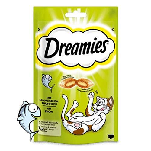 Mars Katze Dreamies Cat Snack mit Thunfisch 180g Mega Pack (Menge: 4 je Bestelleinheit)