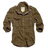 Surplus Hemd 1/1 Raw Vintage Shirt Slim Fit braun S, Herren, Casual/Fashion, Ganzjährig, Baumwolle