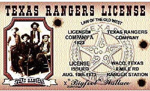 YeeATZ Nwidtr Texas Ranger's Flagge, 7,6 x 12,7 cm